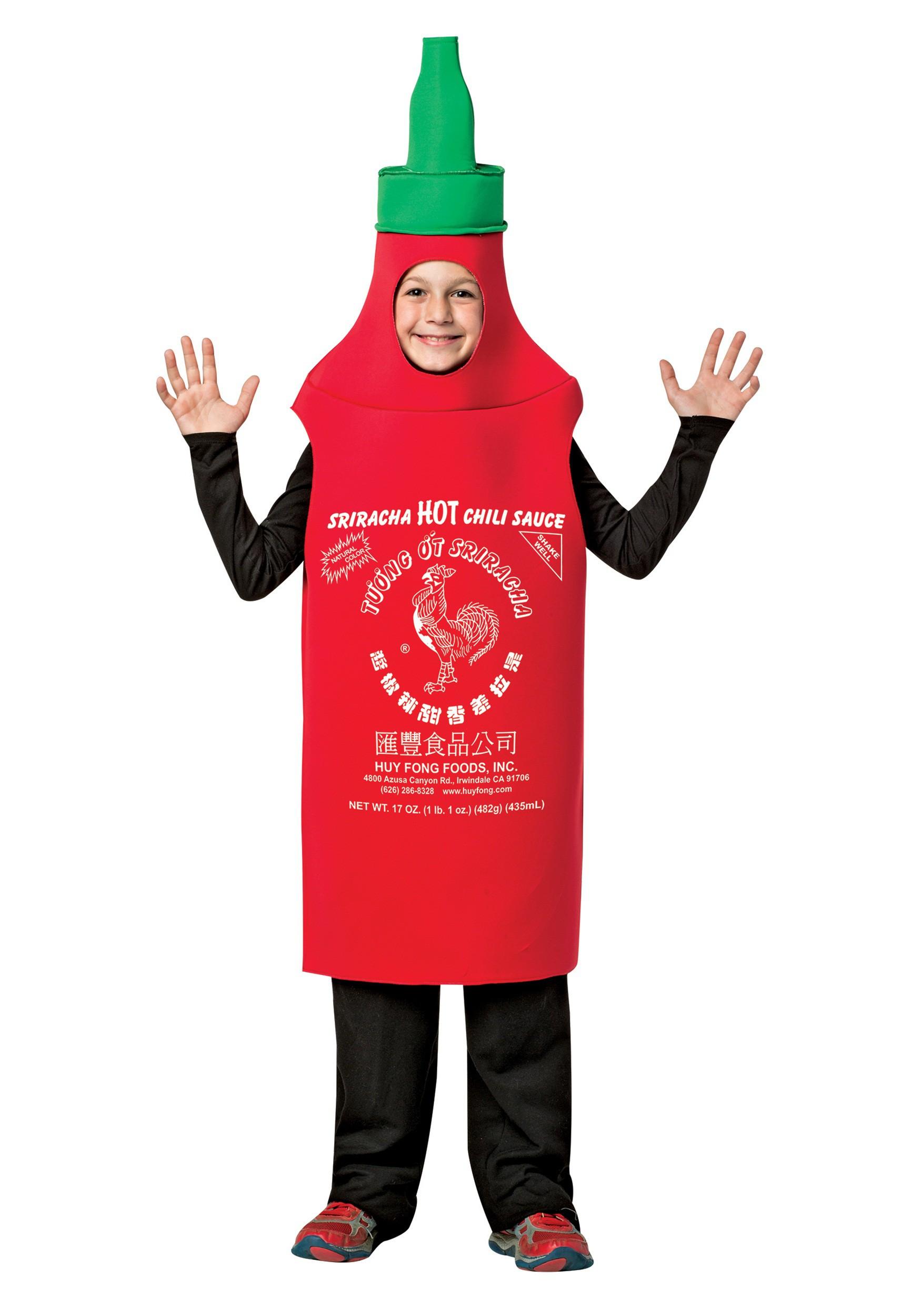 sc 1 st  Halloween Costumes CA & Kids Sriracha Costume