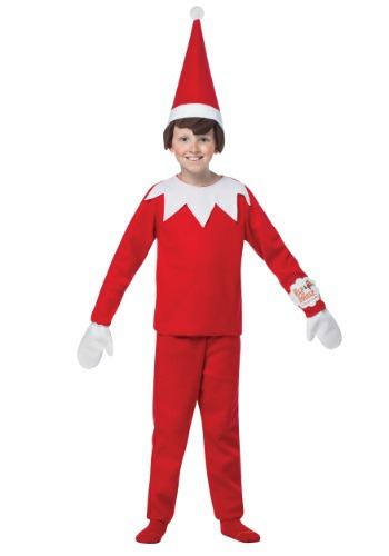 Kids Elf on the Shelf Costume