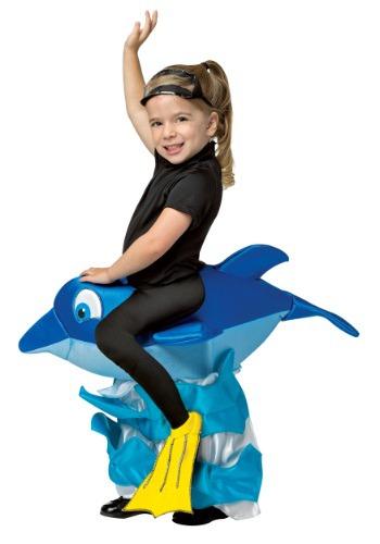 Dolphin Rider Child Costume