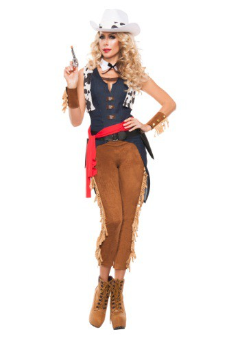 Womens Wild Wild West Cowgirl Costume