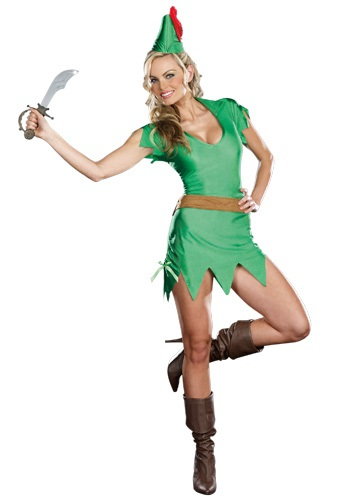 Click Here to buy Sassy Peter Pan Costume from HalloweenCostumes, CDN Funds & Shipping