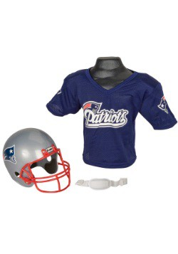Child NFL New England Patriots Helmet and Jersey Set