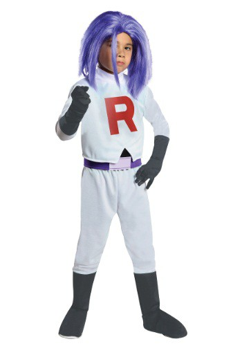 Click Here to buy Kids James Team Rocket Costume from HalloweenCostumes, CDN Funds & Shipping