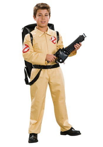 Click Here to buy Kids Deluxe Ghostbusters Costume from HalloweenCostumes, CDN Funds & Shipping