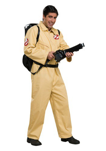 Click Here to buy Adult Deluxe Ghostbusters Costume from HalloweenCostumes, CDN Funds & Shipping