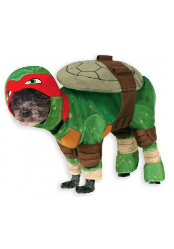 Click Here to buy TMNT Raphael Pet Costume from HalloweenCostumes, CDN Funds & Shipping
