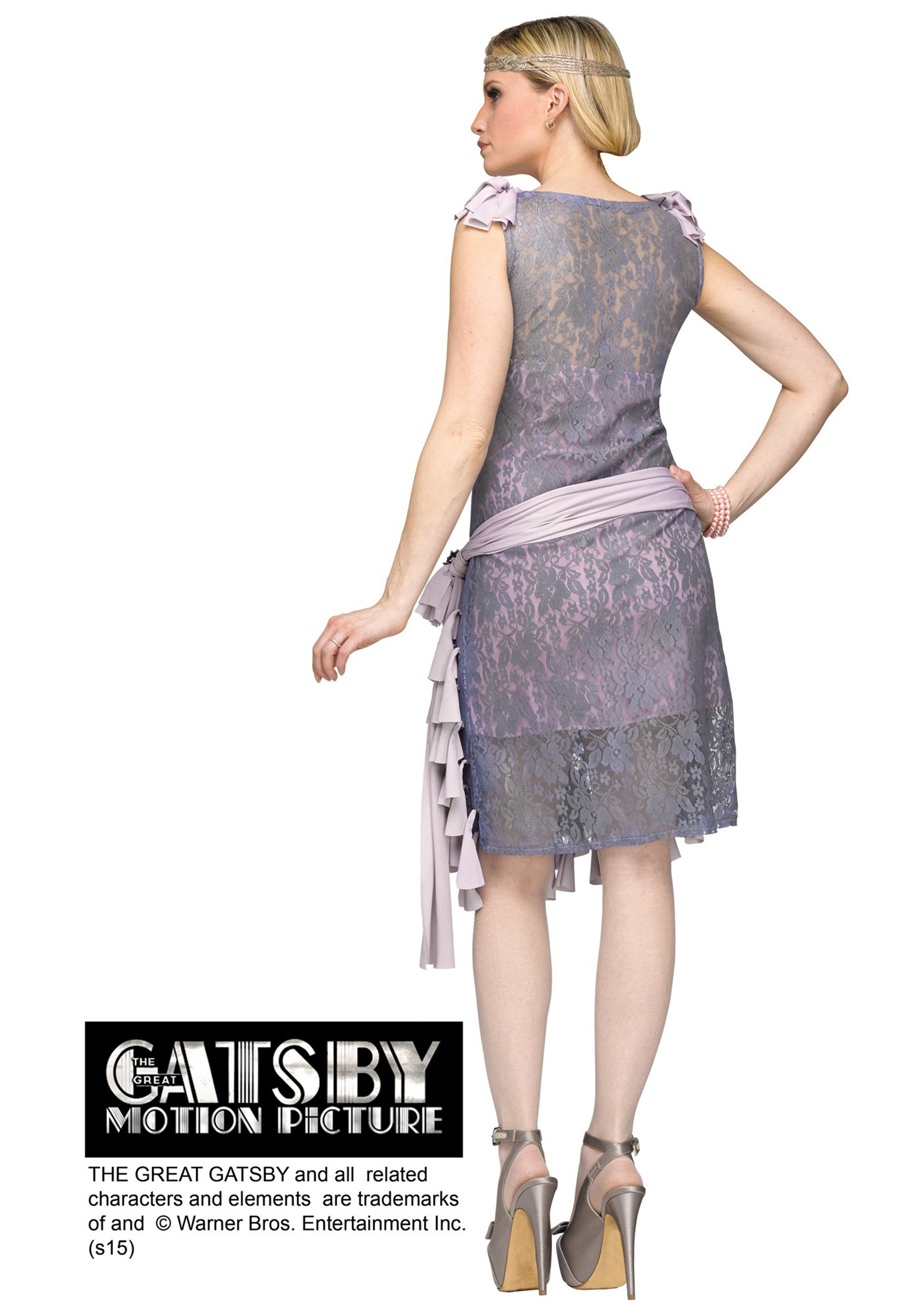 e79c97a0b55 Womens Great Gatsby Daisy Bluebells Dress Womens Great Gatsby Daisy  Bluebells Dress