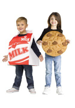 Child Cookies and Milk Costume