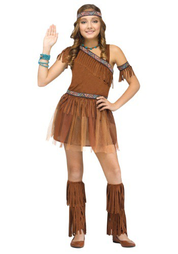 Classic Native American Costume for Girls
