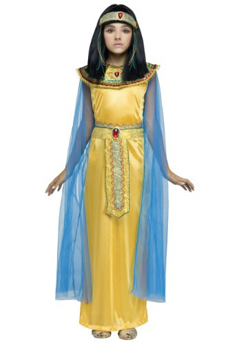 Girls Golden Cleoparta Costume