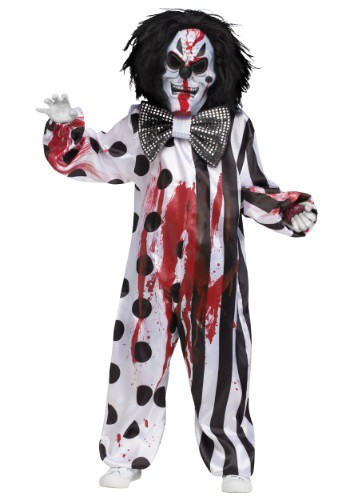 Child Bleeding Killer Clown Costume