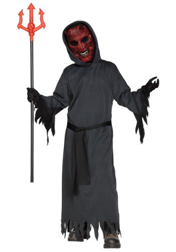 Click Here to buy Kids Smoldering Devil Costume from HalloweenCostumes, CDN Funds & Shipping
