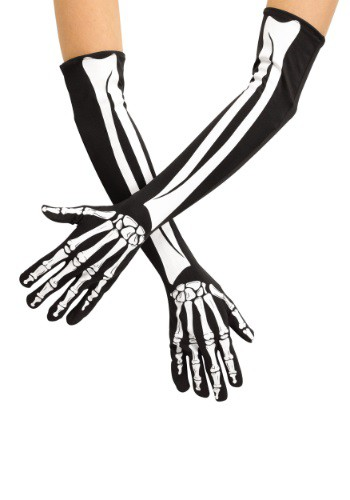 Click Here to buy Adult Skeleton Opera Gloves from HalloweenCostumes, CDN Funds & Shipping