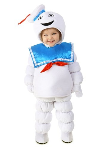Click Here to buy Kids Ghostbusters Deluxe Stay Puft Costume from HalloweenCostumes, CDN Funds & Shipping
