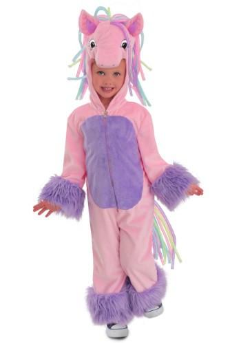 Girl's Rainbow Pony Costume