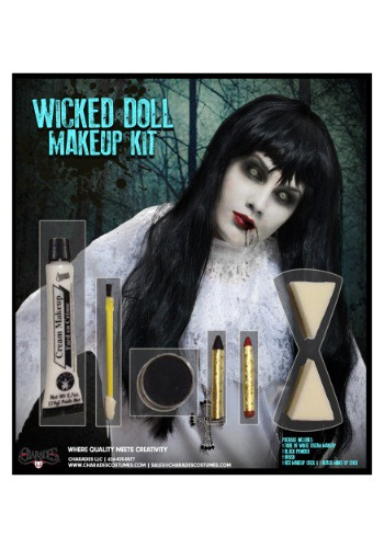 Click Here to buy Wicked Doll Makeup Kit from HalloweenCostumes, CDN Funds & Shipping