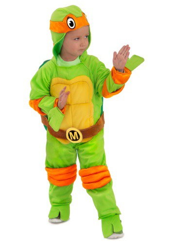 Child TMNT Michelangelo Deluxe Jumpsuit Costume