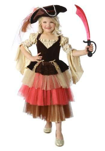 Click Here to buy Kidss Audrey the Pirate Costume from HalloweenCostumes, CDN Funds & Shipping