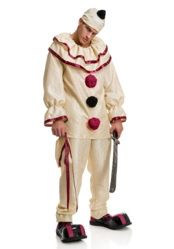 Click Here to buy Adult Freaky Clown Costume from HalloweenCostumes, CDN Funds & Shipping