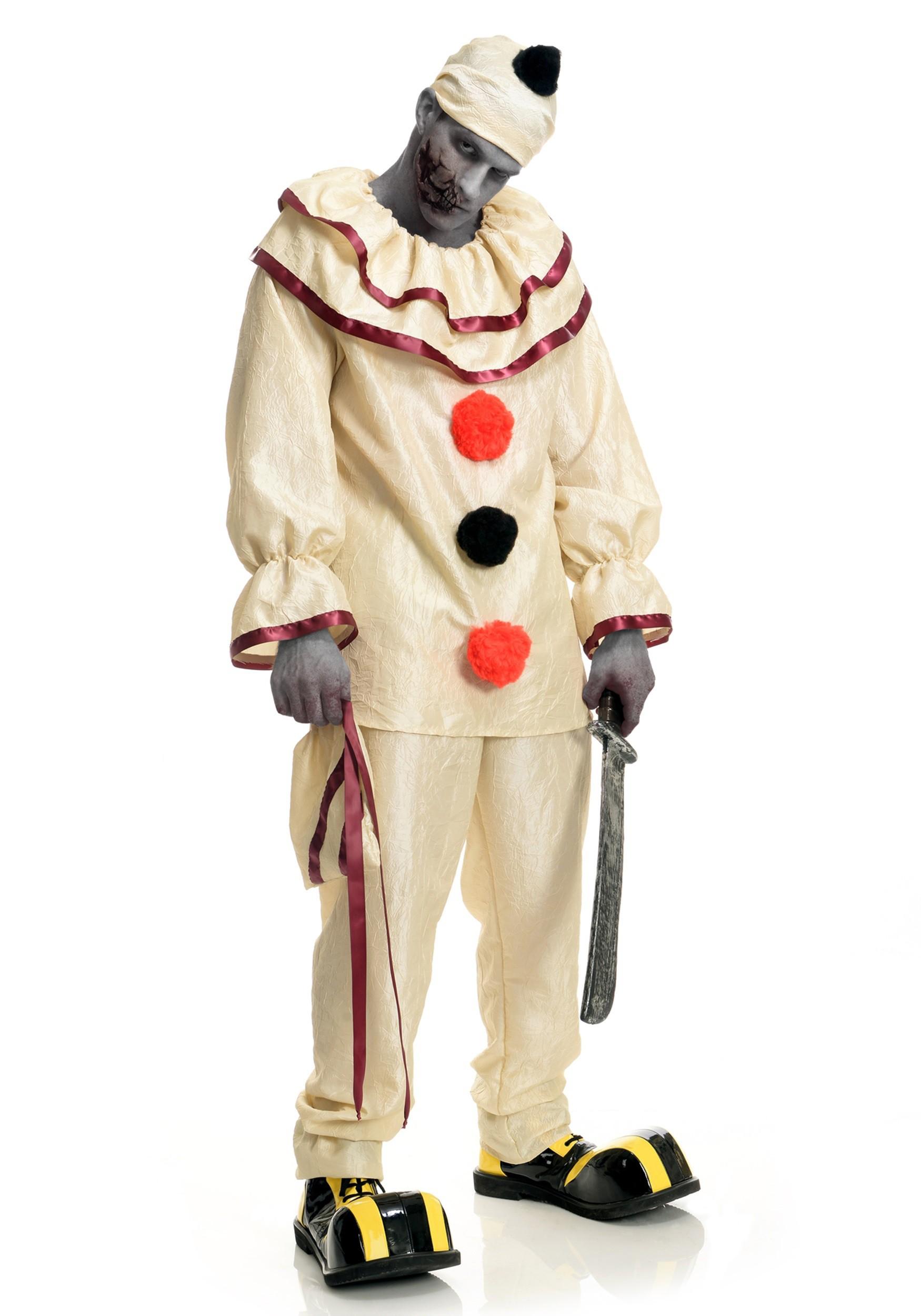 Adult Freaky Clown Costume Adult Freaky Clown Costume alt1  sc 1 st  Halloween Costumes UK & Adult Freaky Clown Costume