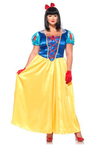 Click Here to buy Plus Size Classic Snow White Costume from HalloweenCostumes, CDN Funds & Shipping
