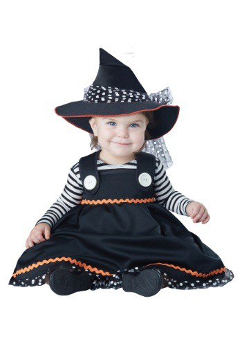 Click Here to buy Baby Crafty Little Witch Costume from HalloweenCostumes, CDN Funds & Shipping