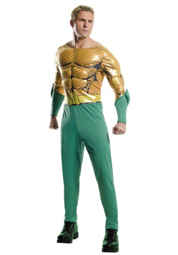 Adult Deluxe Aquaman Costume