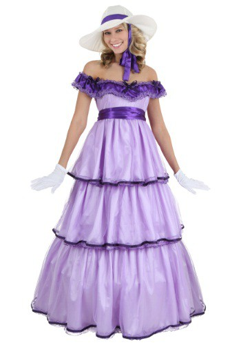 Click Here to buy Plus Size Deluxe Southern Belle Costume from HalloweenCostumes, CDN Funds & Shipping