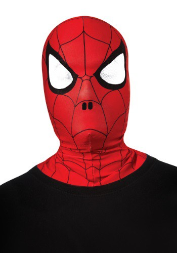 Click Here to buy Kids Overhead Spider-Man Mask Costume from HalloweenCostumes, CDN Funds & Shipping