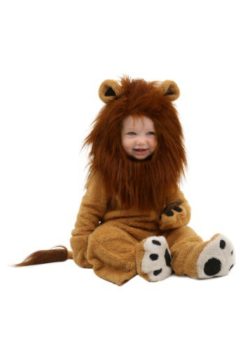 Click Here to buy Baby Deluxe Lion Costume from HalloweenCostumes, CDN Funds & Shipping