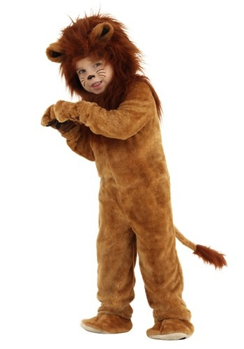 Click Here to buy Toddler Deluxe Lion Costume from HalloweenCostumes, CDN Funds & Shipping