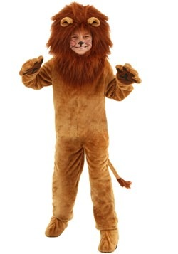 Child Deluxe Lion Costume Update