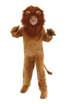 Child Deluxe Lion Costume