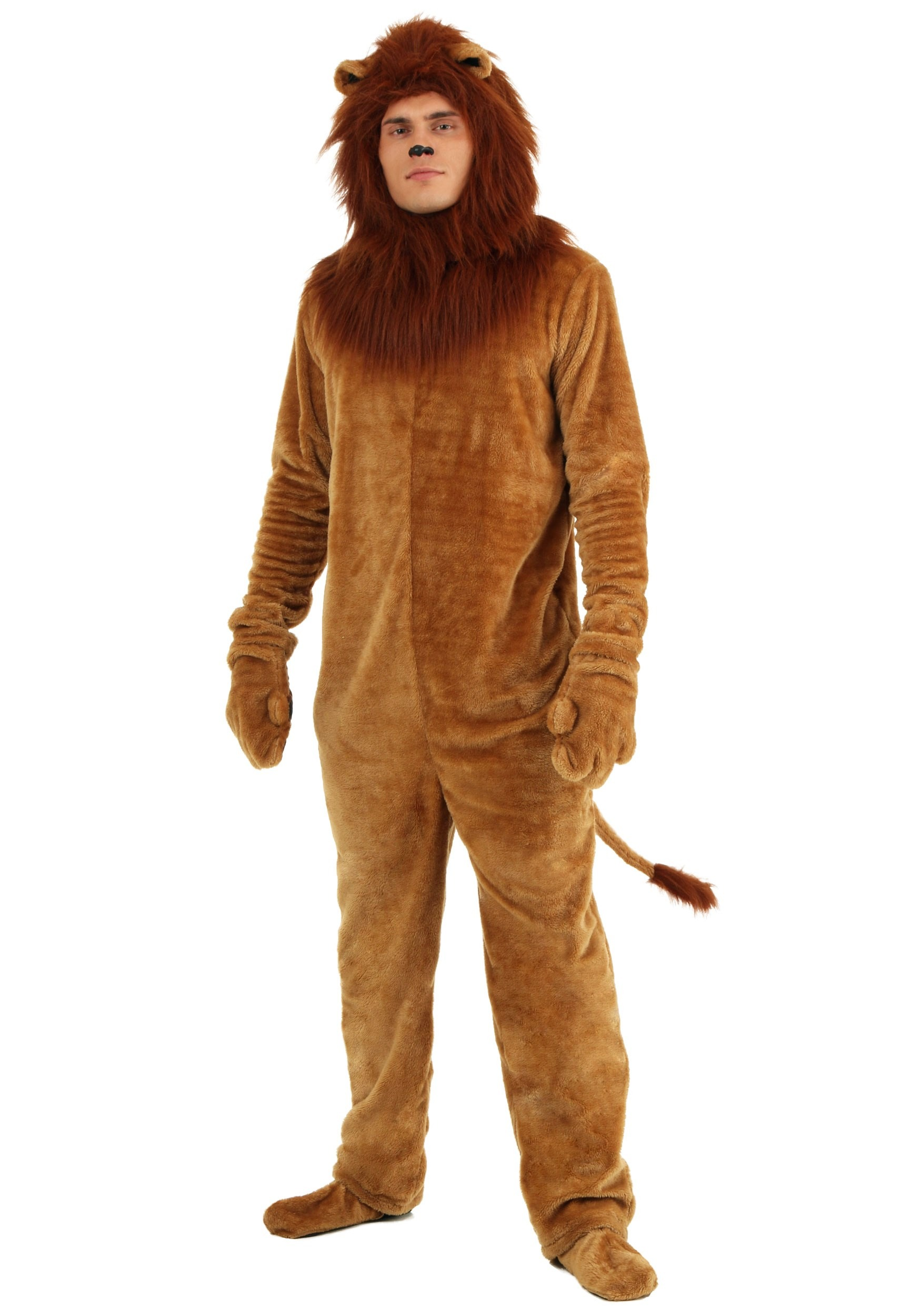 High Quality Adult Deluxe Lion Costume