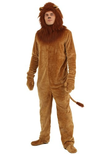 Click Here to buy Plus Size Deluxe Lion Costume | Animal Costumes For Adults from HalloweenCostumes, CDN Funds & Shipping