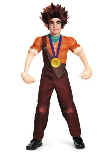 Click Here to buy Kids Deluxe Wreck It Ralph Costume from HalloweenCostumes, CDN Funds & Shipping