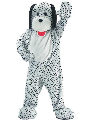 Click Here to buy Dalmatian Dog Mascot Costume from HalloweenCostumes, CDN Funds & Shipping