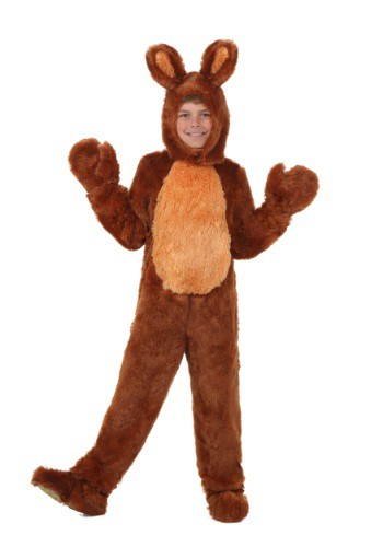 Brown Bunny Kids Costume