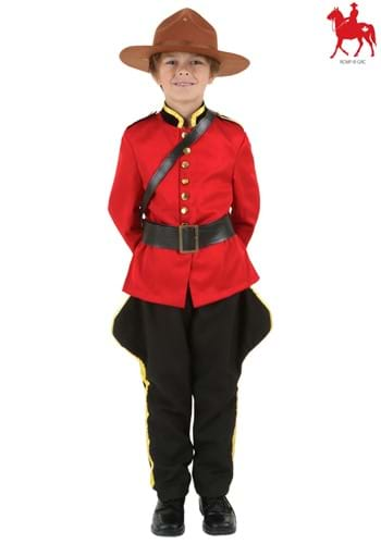 Child RCMP Canadian Mountie Costume