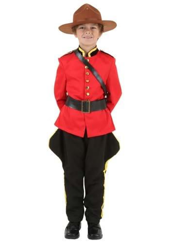 Child RCMP Canadian Mountie Costume
