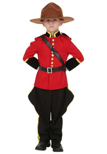 Click Here to buy Toddler Canadian Mountie RCMP Costume from HalloweenCostumes, CDN Funds & Shipping