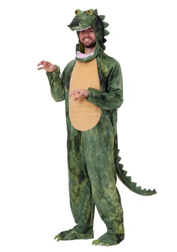 Click Here to buy Adult Al Gator Costume from HalloweenCostumes, CDN Funds & Shipping
