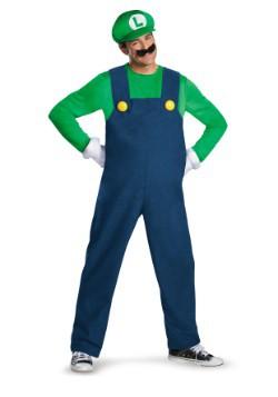 Mens Deluxe Luigi Costume