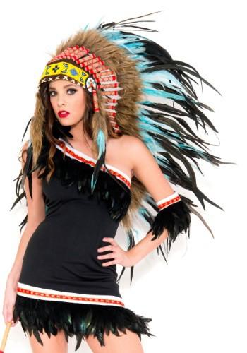 Turquoise Indian Headdress