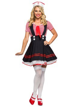 Women's Retro Sailor Girl Costume