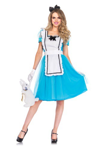 Click Here to buy Womens Classic Alice Tea Length Costume from HalloweenCostumes, CDN Funds & Shipping