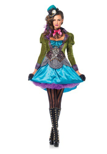 Deluxe Mad Hatter Womens Costume