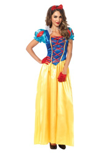 Click Here to buy Classic Snow White Womens Costume from HalloweenCostumes, CDN Funds & Shipping