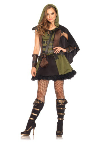 Click Here to buy Womens Darling Robin Hood Costume from HalloweenCostumes, CDN Funds & Shipping
