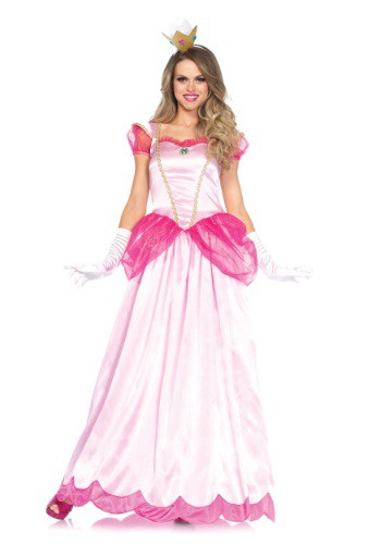 Click Here to buy Womens Classic Pink Princess Costume from HalloweenCostumes, CDN Funds & Shipping